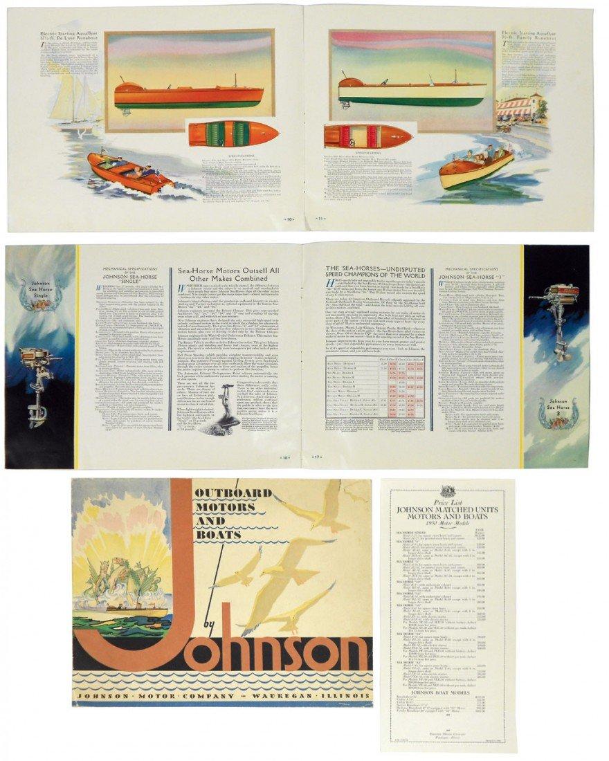 0231: Boat & motor catalog, Johnson Outboard Motors & B