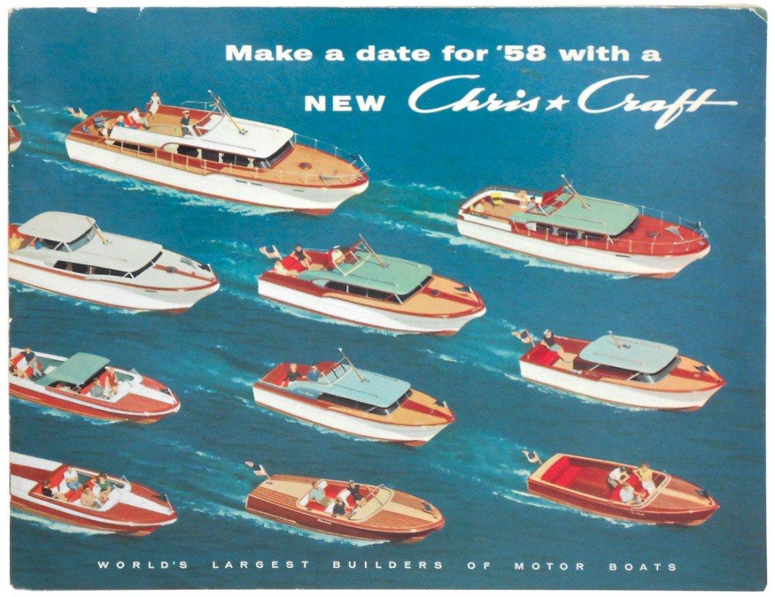 0234: Boat dealer advertising literature, Chris-Craft 1