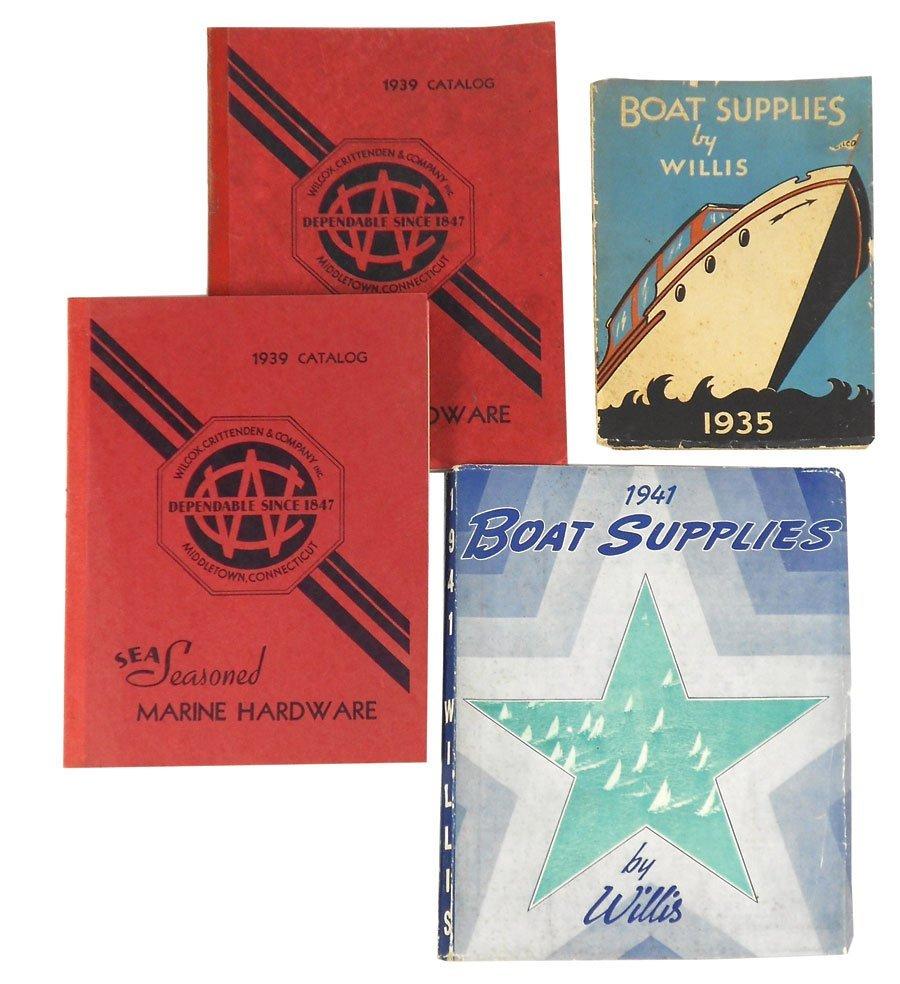 0236: Marine hardware catalogs (4), 1935 Boat Supplies