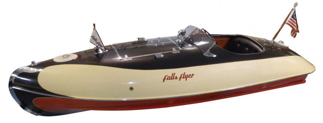 0280: Speed boat, Larson Falls Flyer Inboard, known as