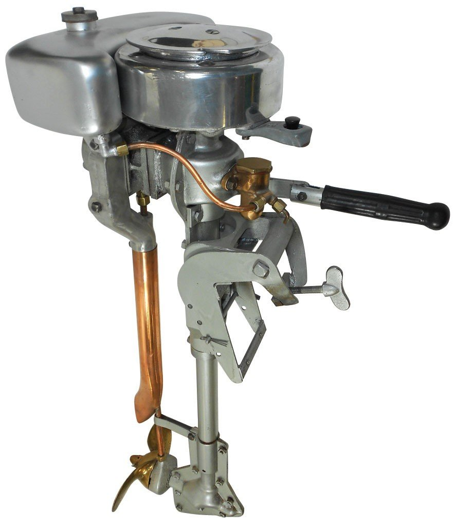 0558: Boat outboard motor, Thor, mfgd by Kiekhaefer Cor - 2