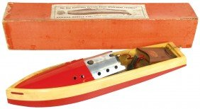 Toy Boat, Swallow, Mfgd By Bowman Models (England