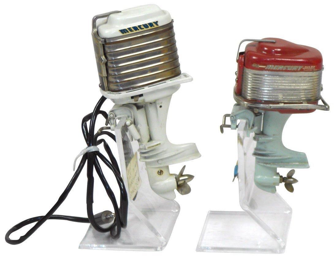 0894: Miniature outboard motors (2), 1959 Mercury Mark