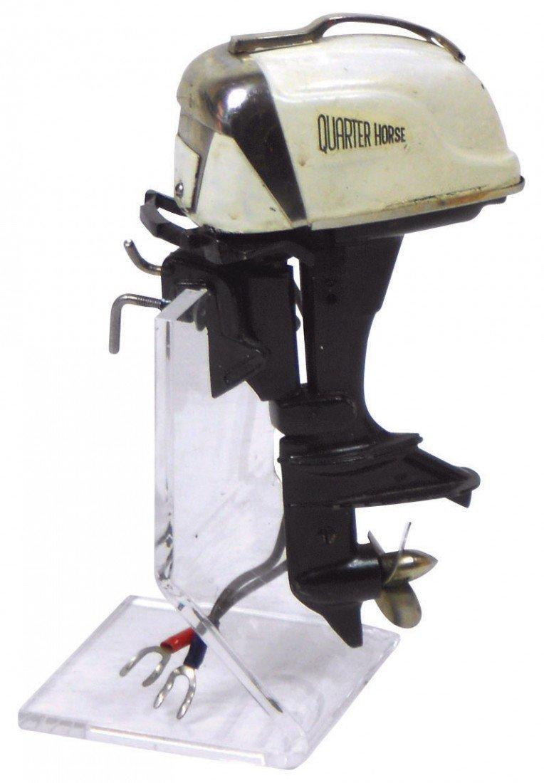 0896: Miniature outboard motor, Rare K & O 1958 Oliver