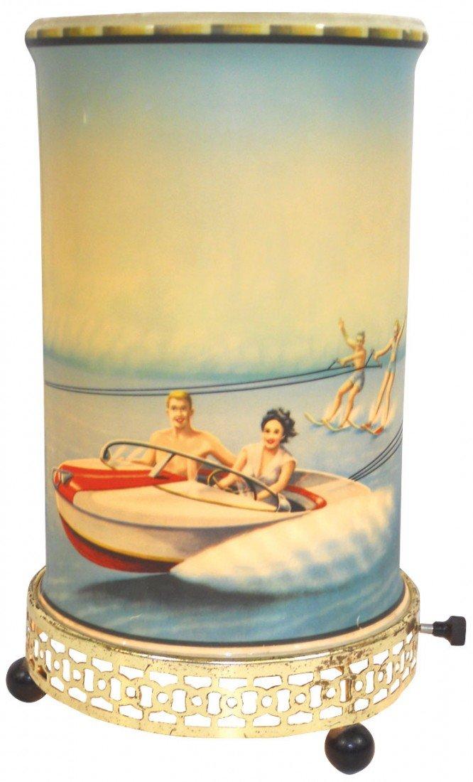 0912: Nautical motion lamp, c.1950's, mfgd by Econolite