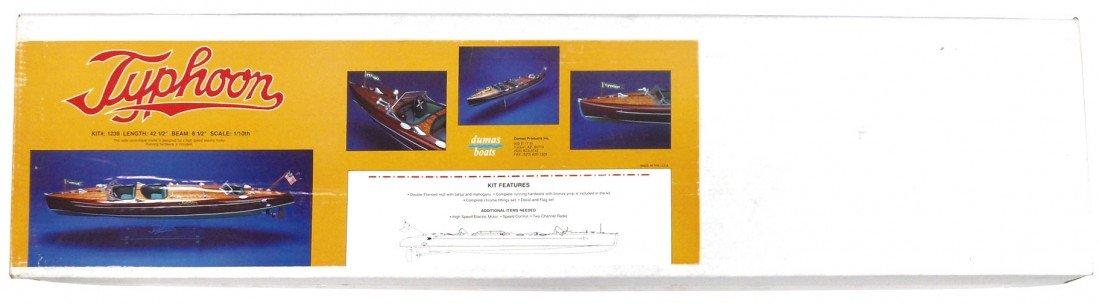 0914: Boat model kit, Typhoon by Dumas, new in box, 42.