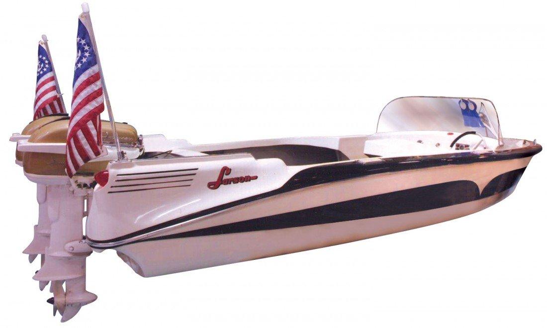 1000: Speed boat, Larson Thunderhawk Sr., fiberglass, c - 2