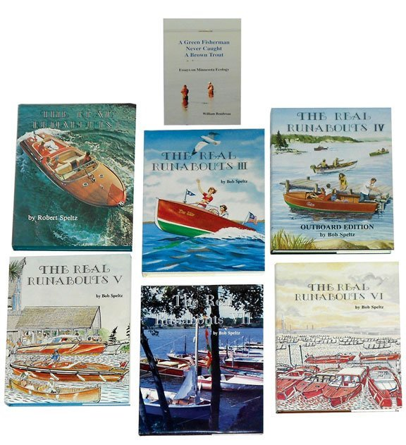1191: Toy boat reference books (7), The Real Runabouts