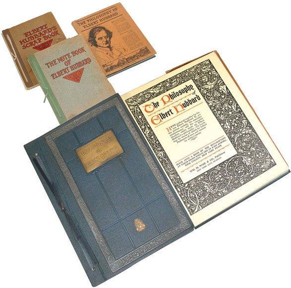 6: Roycroft  books (3); The Philosophy of Elbert Hubbar
