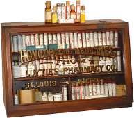 1050: Luyties' Pharmacy Homeopathic Medicine display ca