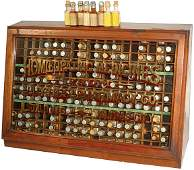 1055: Luyties' Pharmacy Homeopathic Medicine display ca