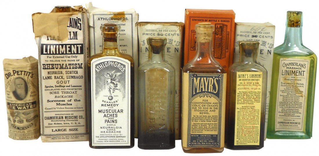 0007: Drug Store medicines (7), includes Chamberlain's