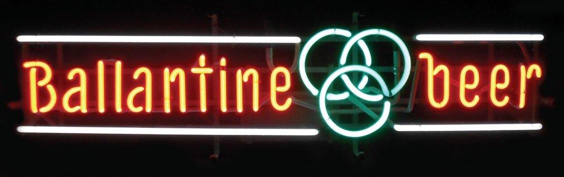 0022: Breweriana, Ballantine Beer neon sign, new-old-st