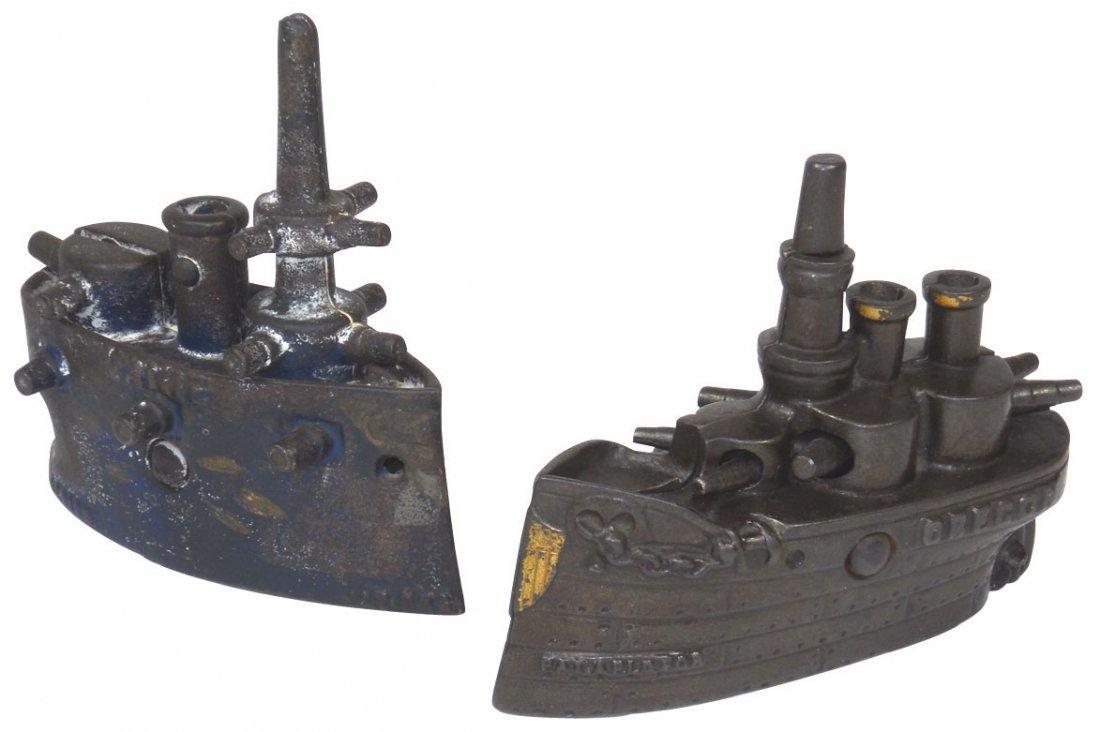 0147: Still banks (2), Maine, Grey Iron Casting Co., US