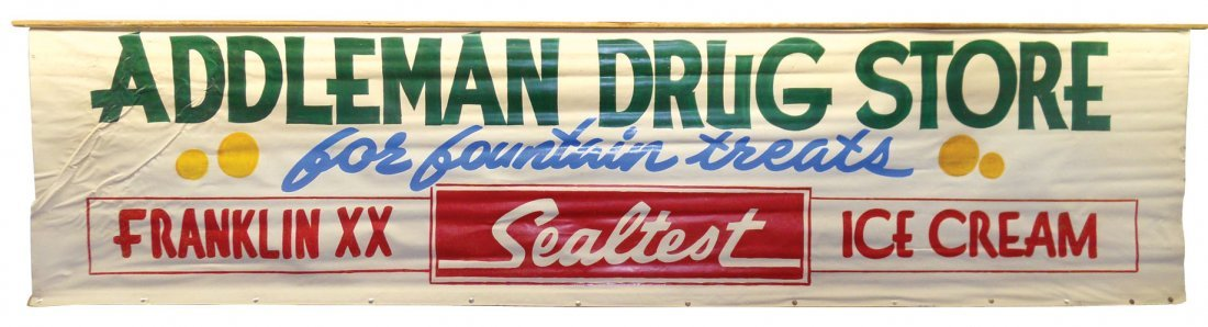 0157: Addleman Drug Store for Fountain Treats & Frankli