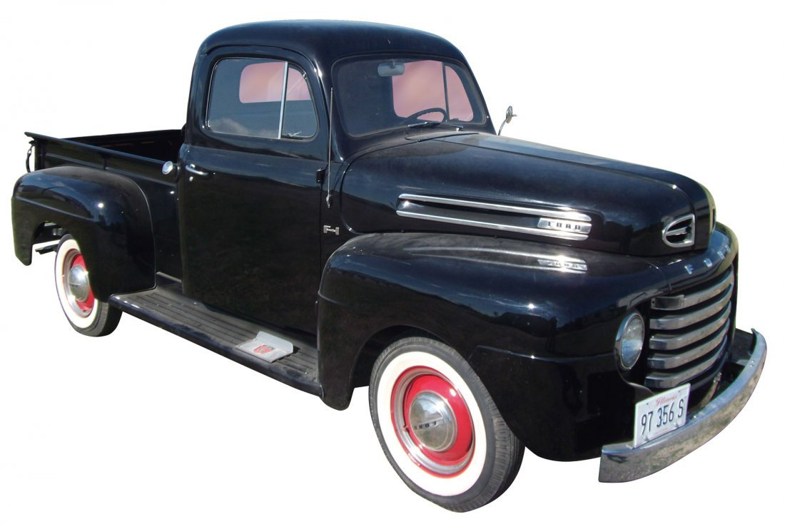 """0298: Pickup truck, Ford F1, 1950, the first """"Post War"""""""