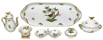 0926 China Herend Hungary Rothschild Bird pattern min