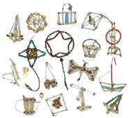 1275: Christmas ornament collection (16), Czechoslovaki