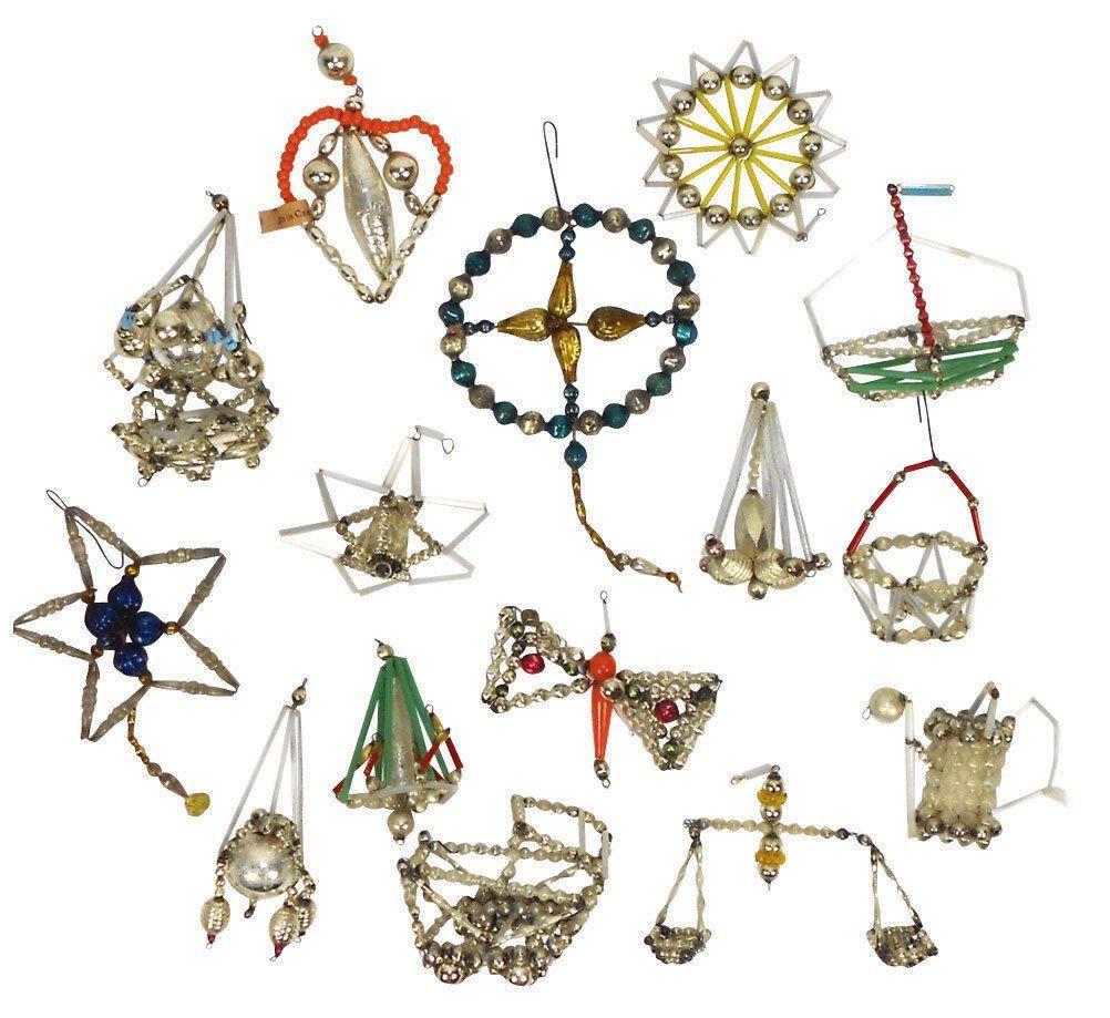 Christmas ornament collection (16), Czechoslovaki