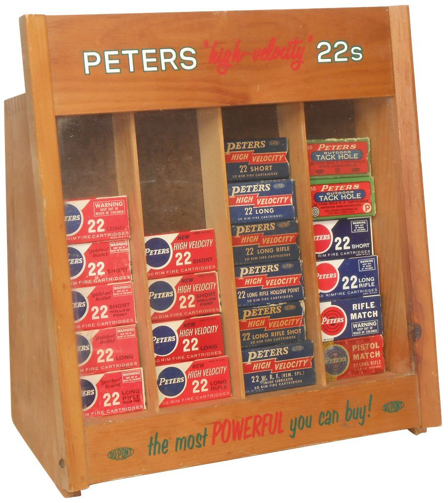 Ammunition Display Peters Quot High Velocity Quot 22s Counter