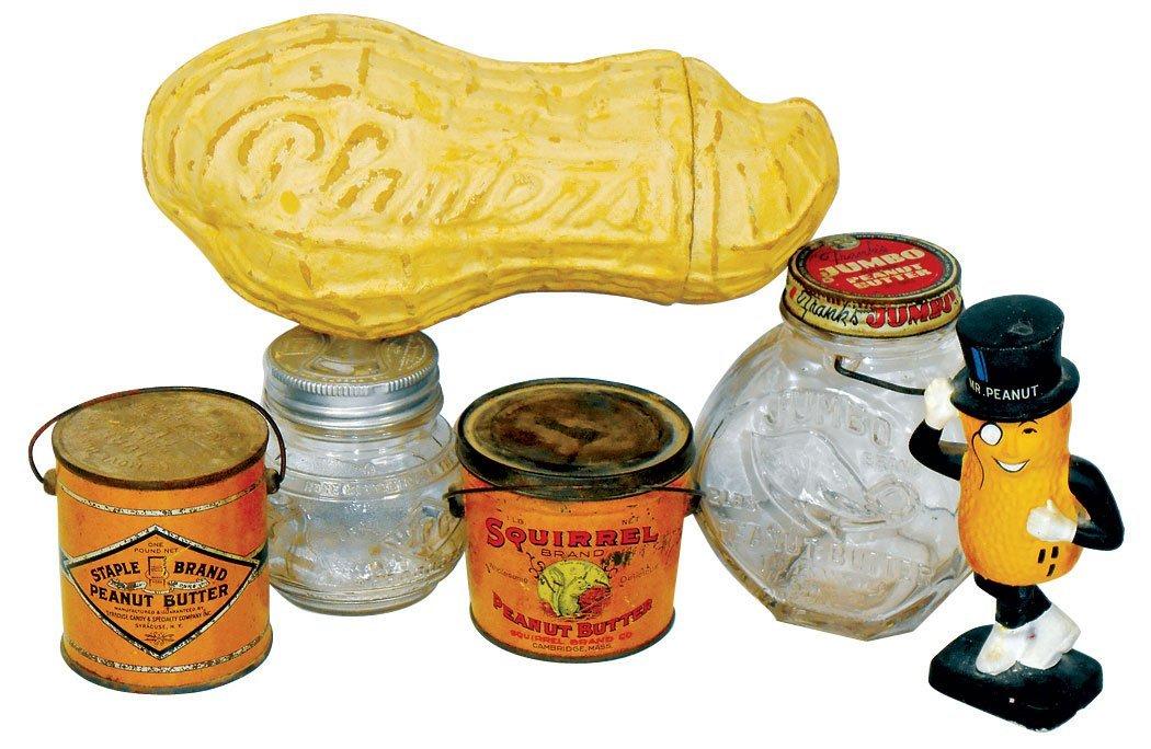 Peanut & peanut butter items (6), Squirrel Brand &