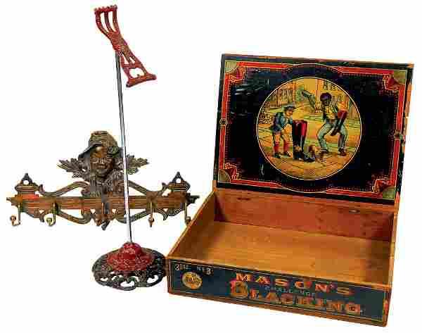 Black Americana, Mason's Blacking counter display box,