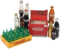 CocaCola miniatures 11 cooler wpaper roller mech