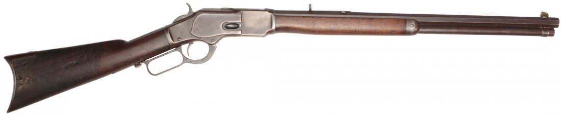Firearm, rifle, Winchester Model 1873 lever action