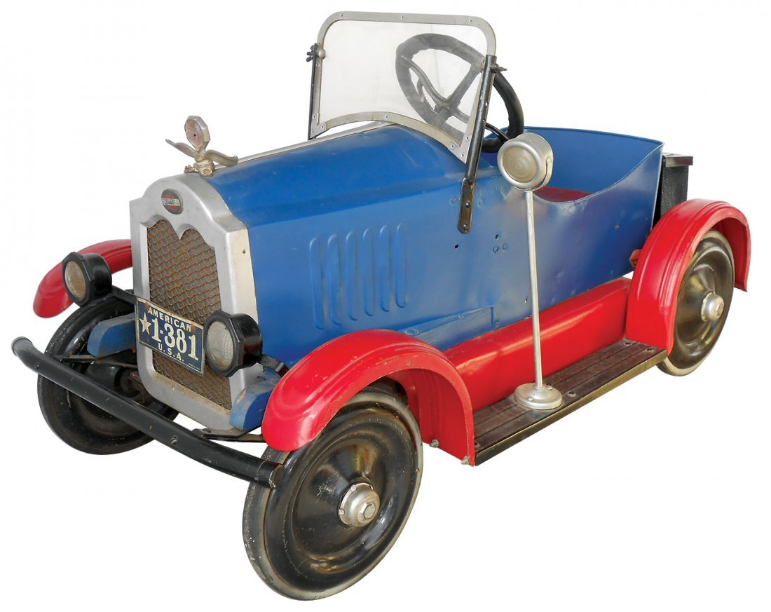 Child's pedal car, Buick, c.1920's, mfgd by American,