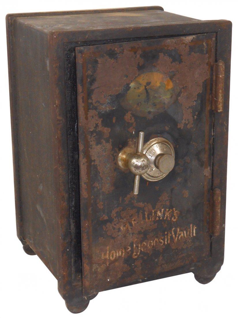 Safe, Home Deposit Vault, mfgd by The Meilink Mfg