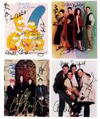 Autographed photos 4 castsigned photos of TV shows