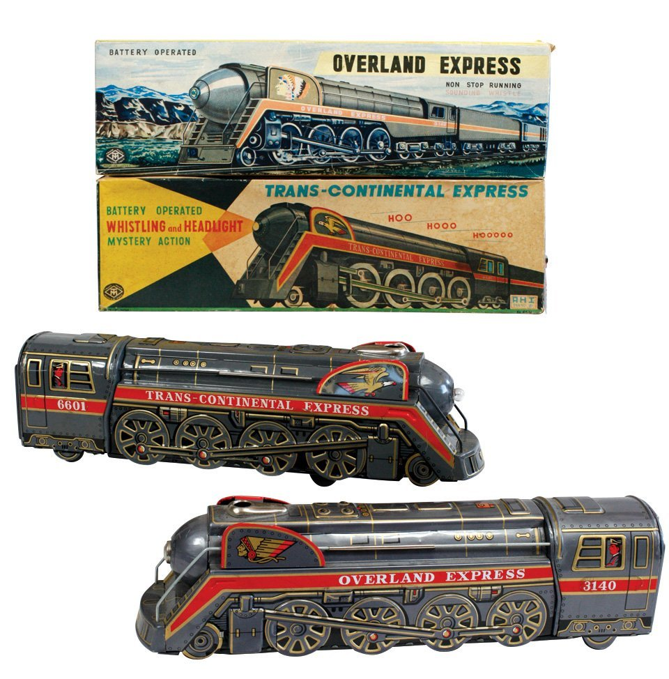 Toy train engines (2), Modern Toys Overland Express &
