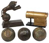 Advertising paperweights 5 Frank W Greaves