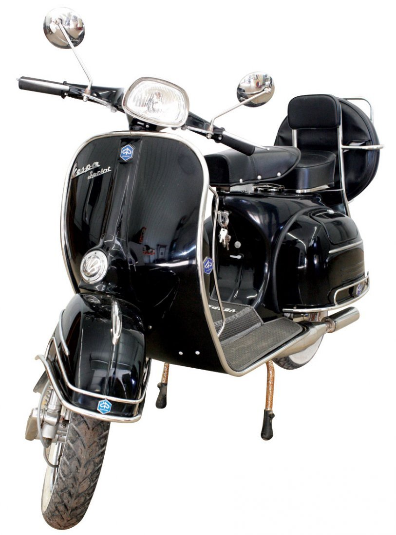 Motor scooter, 1969 Vespa 150 Sprint, Piaggio, Veglia