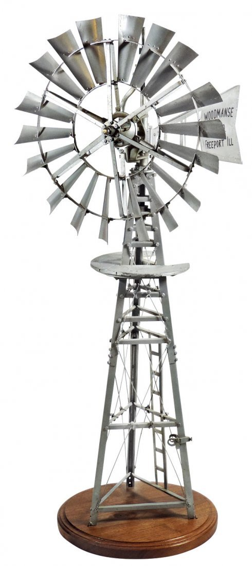 Salesman's sample windmill, Woodmanse Mfg.