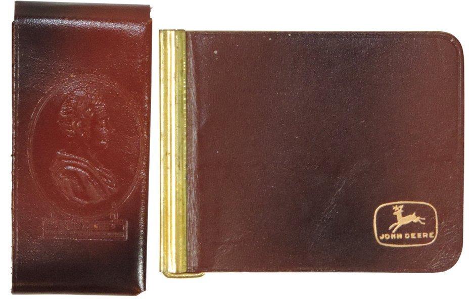 John Deere tightwad billfold & money clip, tightwad