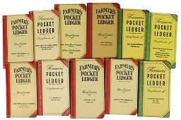 Farmers Pocket Ledgers 11 Compliments of Wm