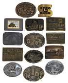 John Deere belt buckles (14), Dealerships: Lloyd