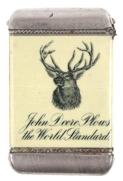 John Deere match safe, John Deere Plows-the World
