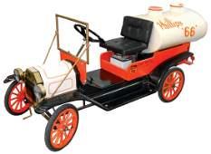 Petroliana miniature tank truck, Phillips 66, dealer