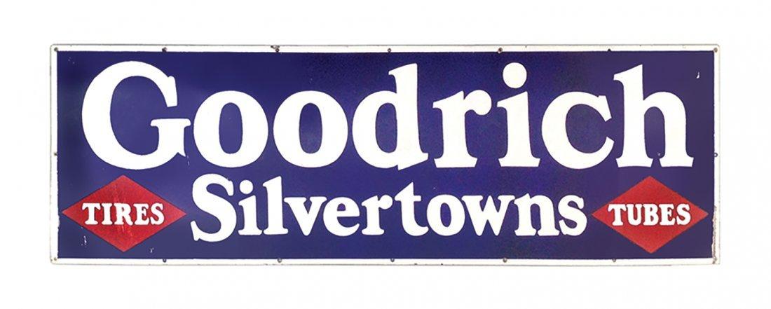 Automotive sign, Goodrich Silvertown Tires & Tubes