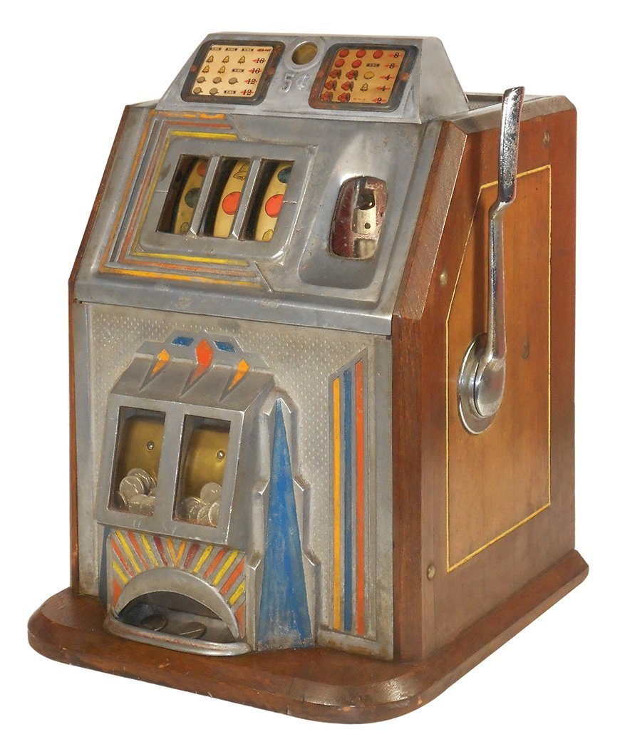 Coin-operated slot machine, the King, Rare,