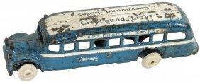 Toy Bus, Arcade Greyhound Lines Gmc, 1937, Cast Iron,