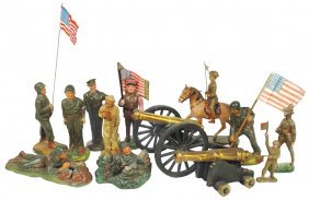 Toy Soldiers (13), Assorted Characters, Composition,