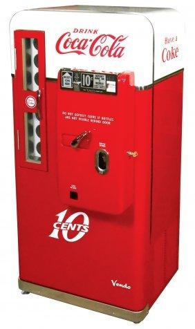 Coca-cola Vending Machine, Vendo 56a, 10 Cent