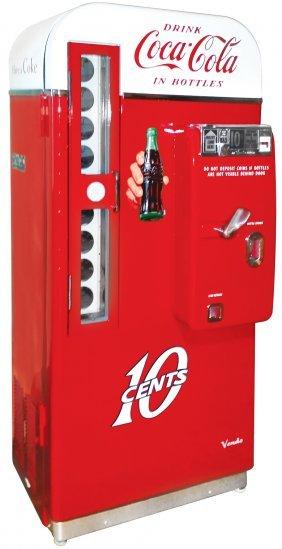 Coca-cola Machine, Vendo 81d, One Of The Most Popular