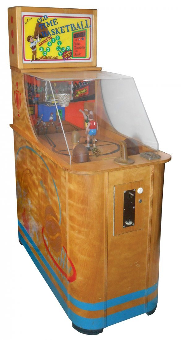 Coin-operated arcade machine, Old Time Basketball skill