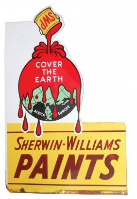 Hardware Store Sign, Sherwin-williams Paints Cover The