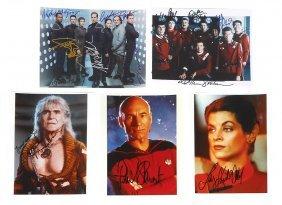 Autographed Photos (5), Star Trek: Enterprise Group