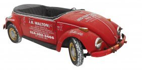 Soda Fountain Cooler, Actual Volkswagen Body W/out
